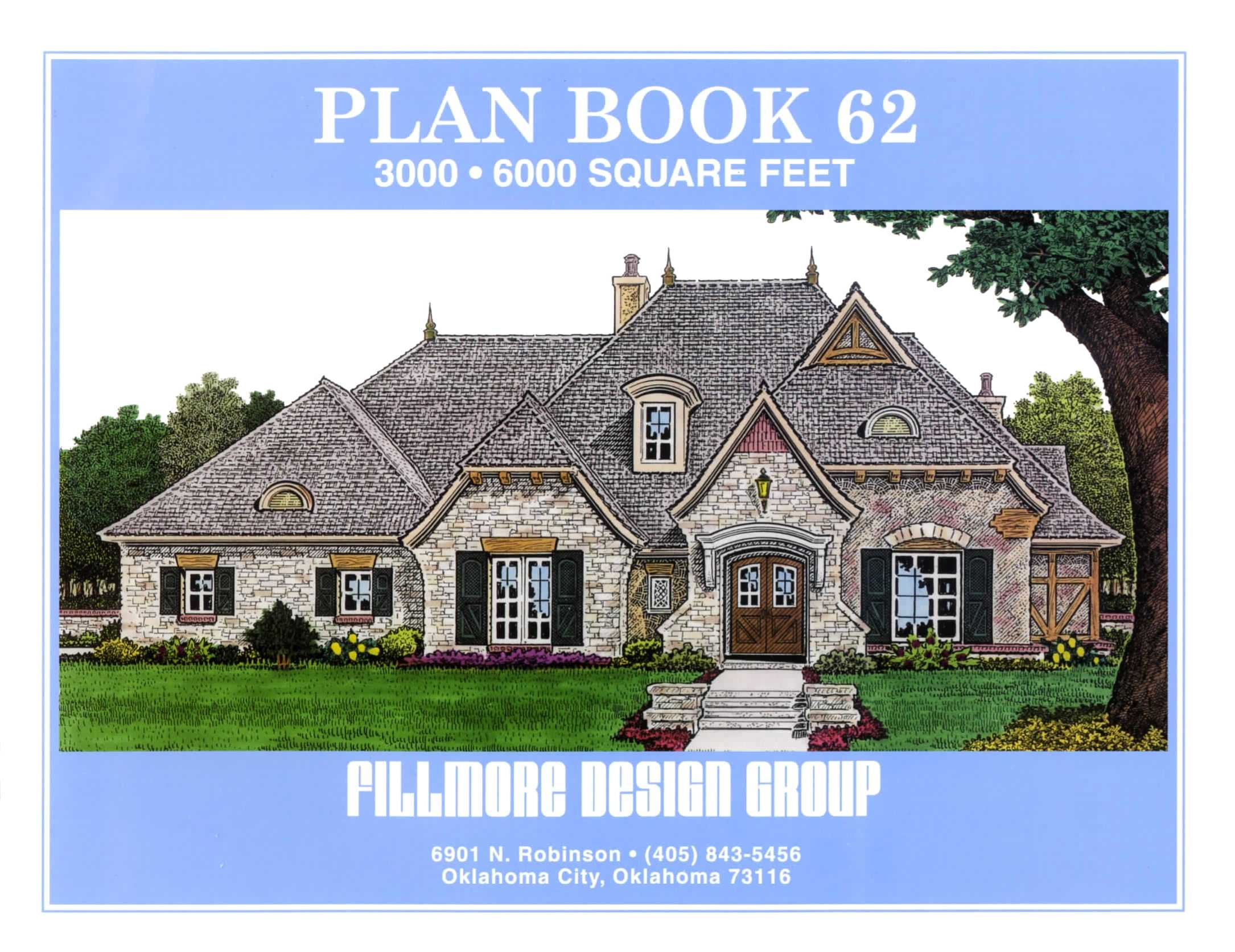 Plan book 62 front cover fillmore chambers design group - House design book ...