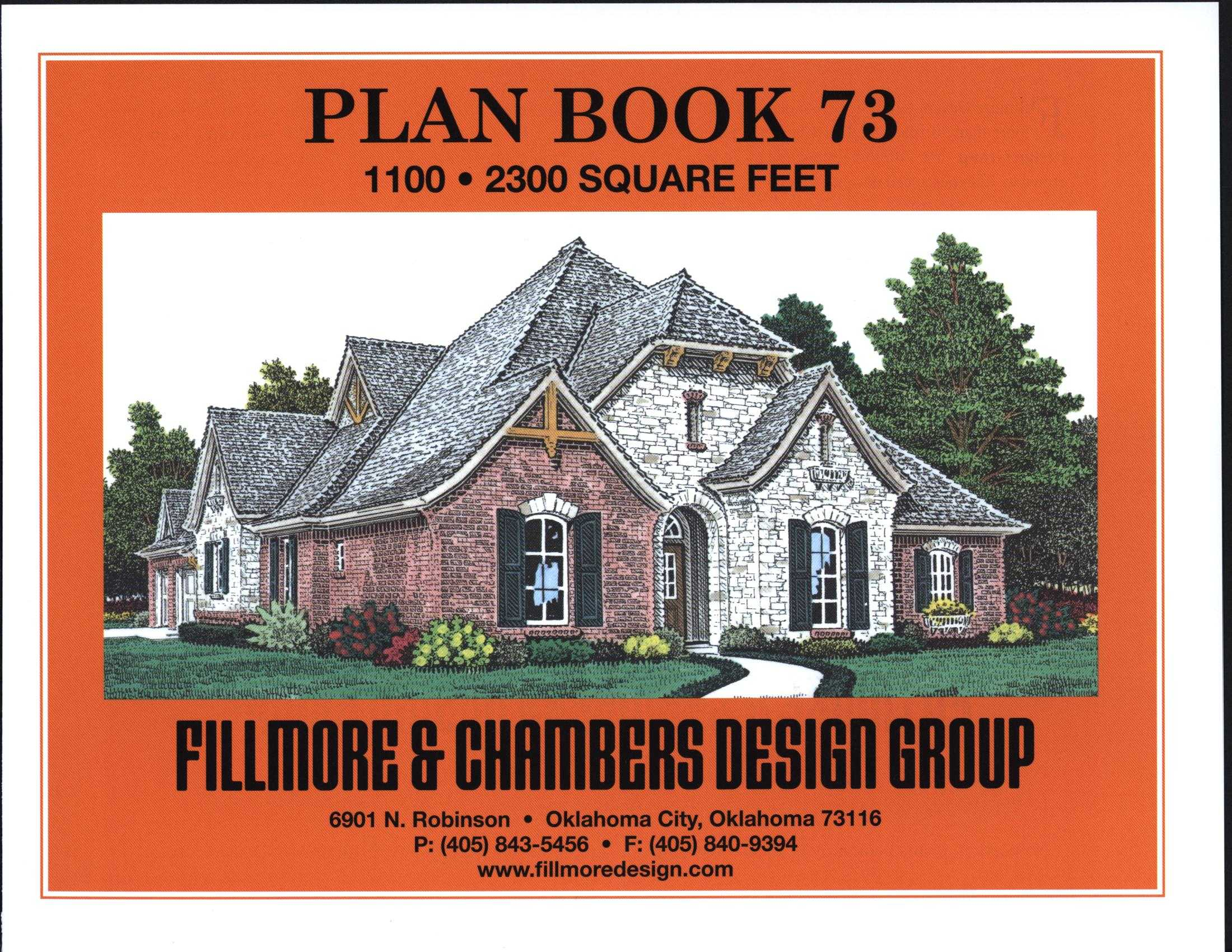 House plans by fillmore design group house plans - House design book ...