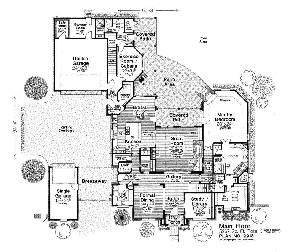 9913xl Fillmore Chambers Design Group: fillmore design floor plans