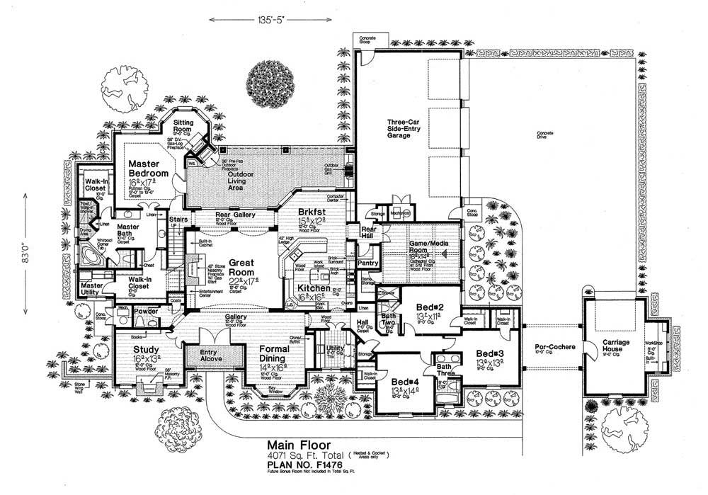 F1476xl fillmore chambers design group Fillmore design floor plans