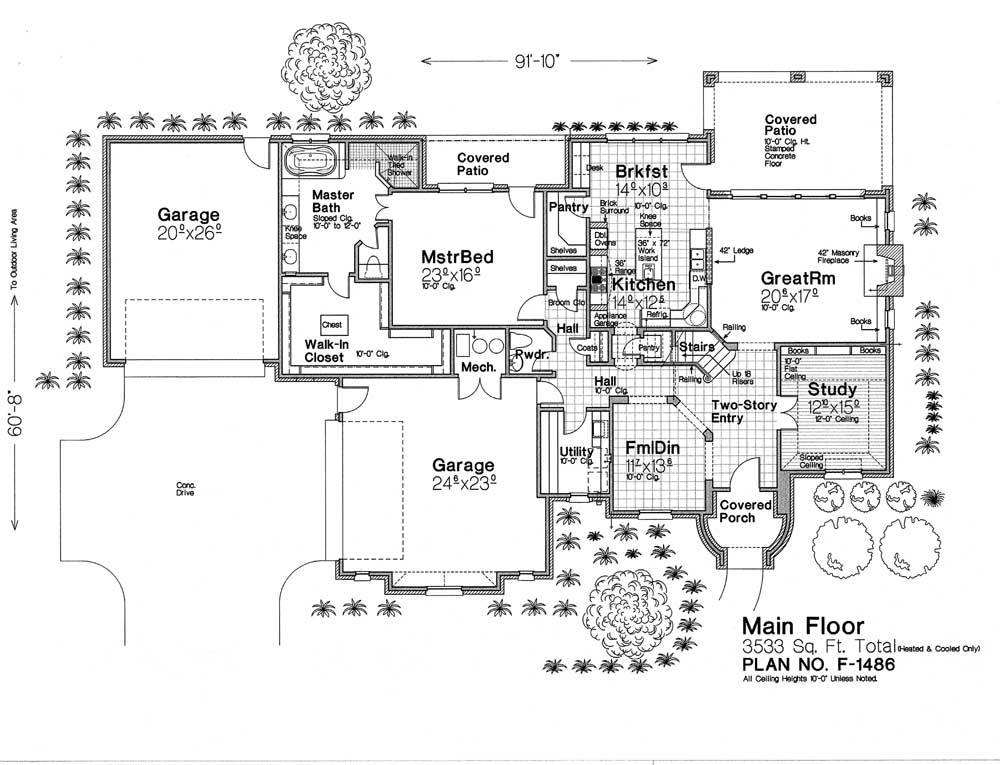F1486 Fillmore Chambers Design Group: fillmore design floor plans