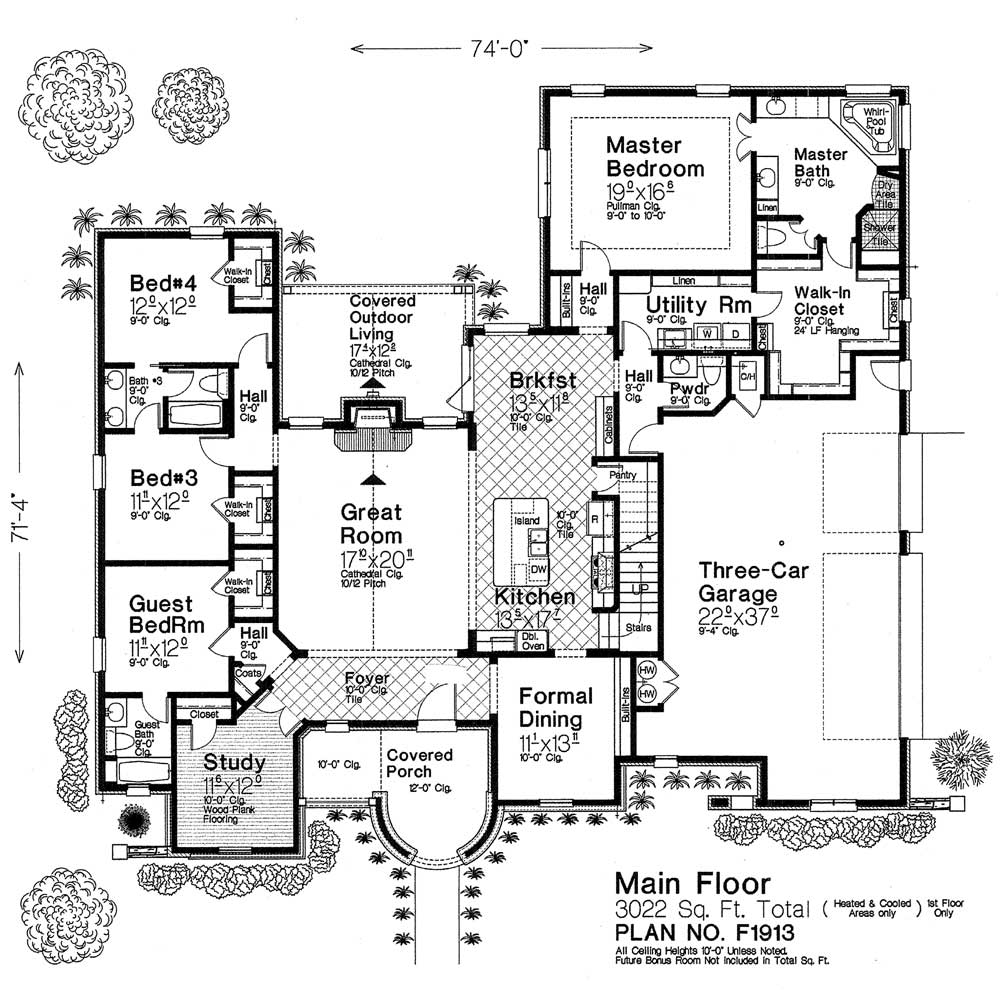 F1913 fillmore chambers design group Fillmore design floor plans