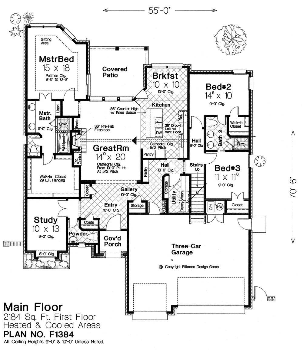 F1384 fillmore chambers design group Fillmore design floor plans