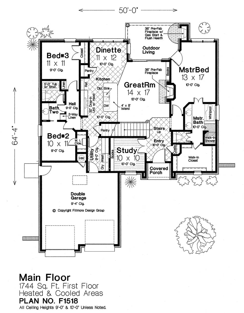 F1518 fillmore chambers design group Fillmore design floor plans