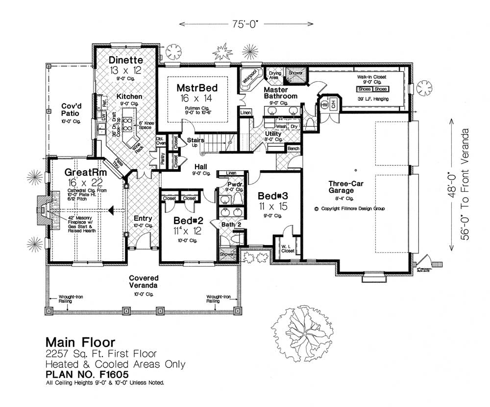 F1605 Fillmore Chambers Design Group: fillmore design floor plans