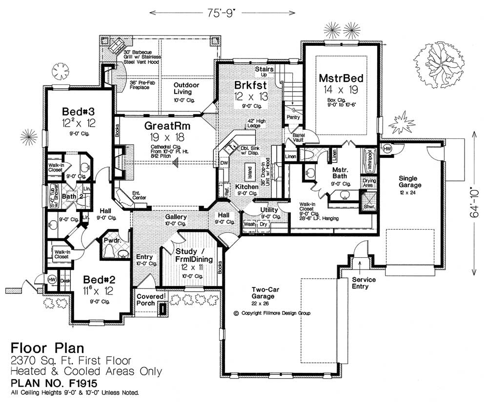 F1915 Fillmore Chambers Design Group: fillmore design floor plans