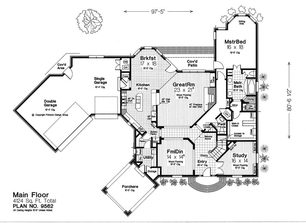 9562 fillmore chambers design group Fillmore design floor plans