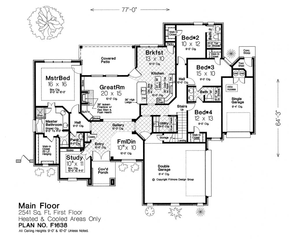F1638 fillmore chambers design group Fillmore design floor plans