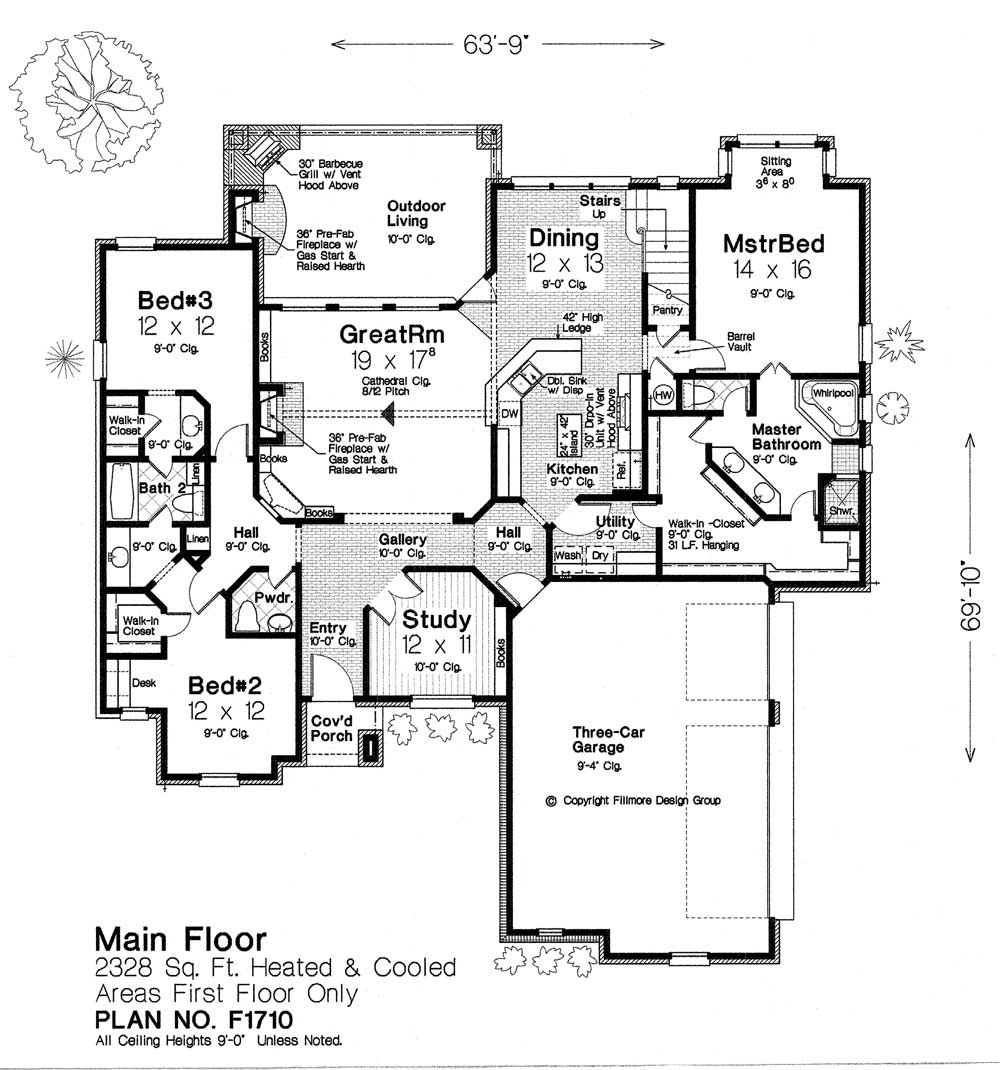 F1710 fillmore chambers design group Fillmore design floor plans