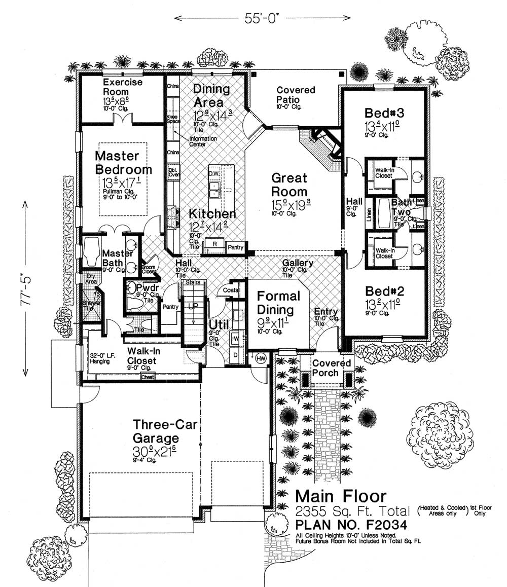 F2034 fillmore chambers design group Fillmore design floor plans