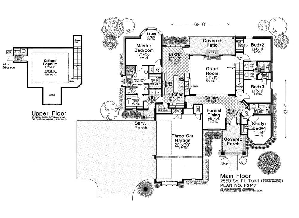 F2147 fillmore chambers design group for Fillmore design floor plans