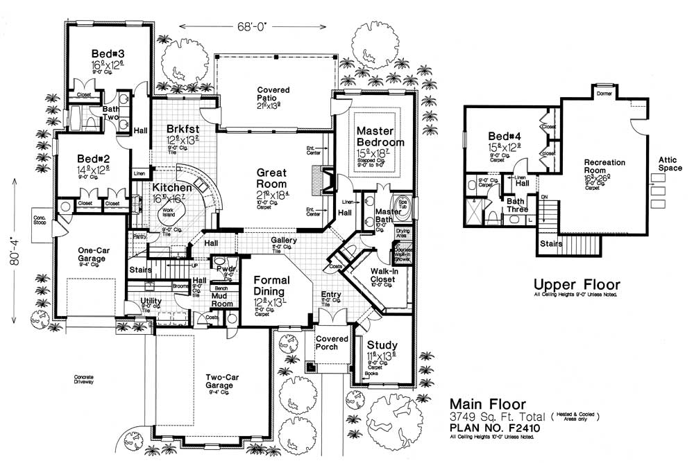 Fillmore Design Floor Plans F2410 Fillmore Amp Chambers