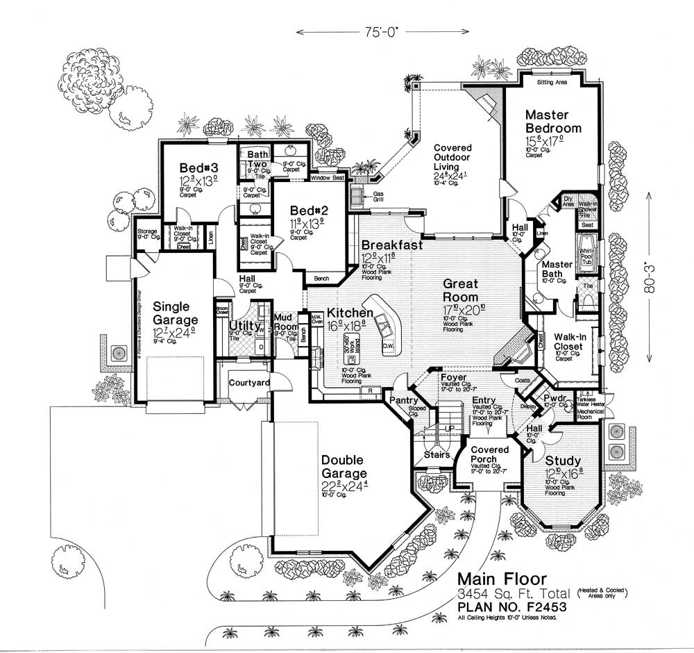 F2453 Fillmore Chambers Design Group: fillmore design floor plans