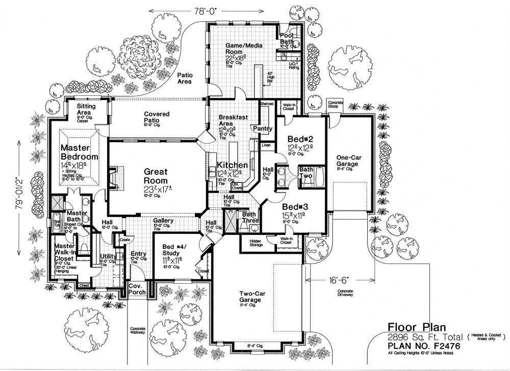F2476 Fillmore Chambers Design Group: fillmore design floor plans