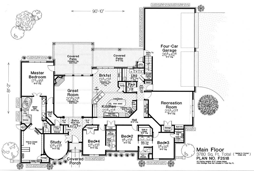 F2518 Fillmore Chambers Design Group: fillmore design floor plans
