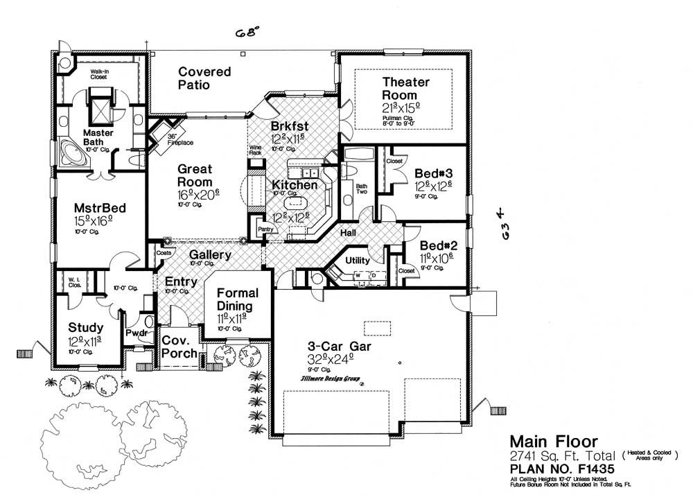 F1435 fillmore chambers design group for Fillmore design floor plans