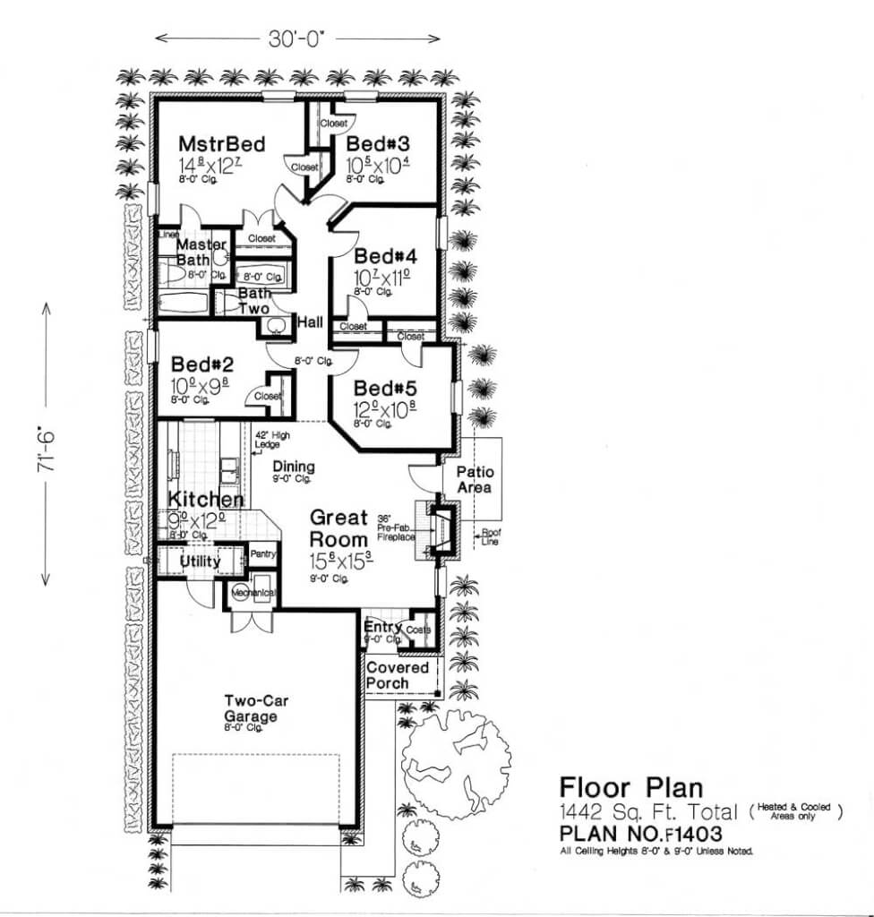 F1403 fillmore chambers design group Fillmore design floor plans