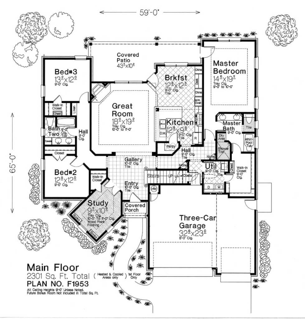 F1953 fillmore chambers design group Fillmore design floor plans