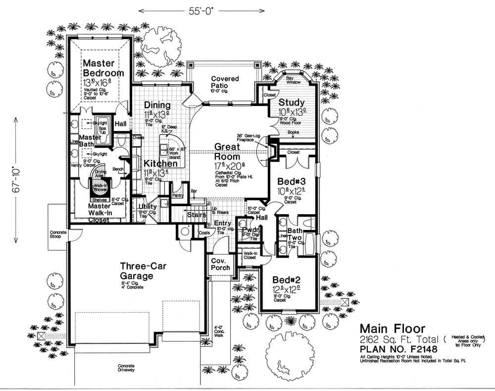 F2148 fillmore chambers design group Fillmore design floor plans