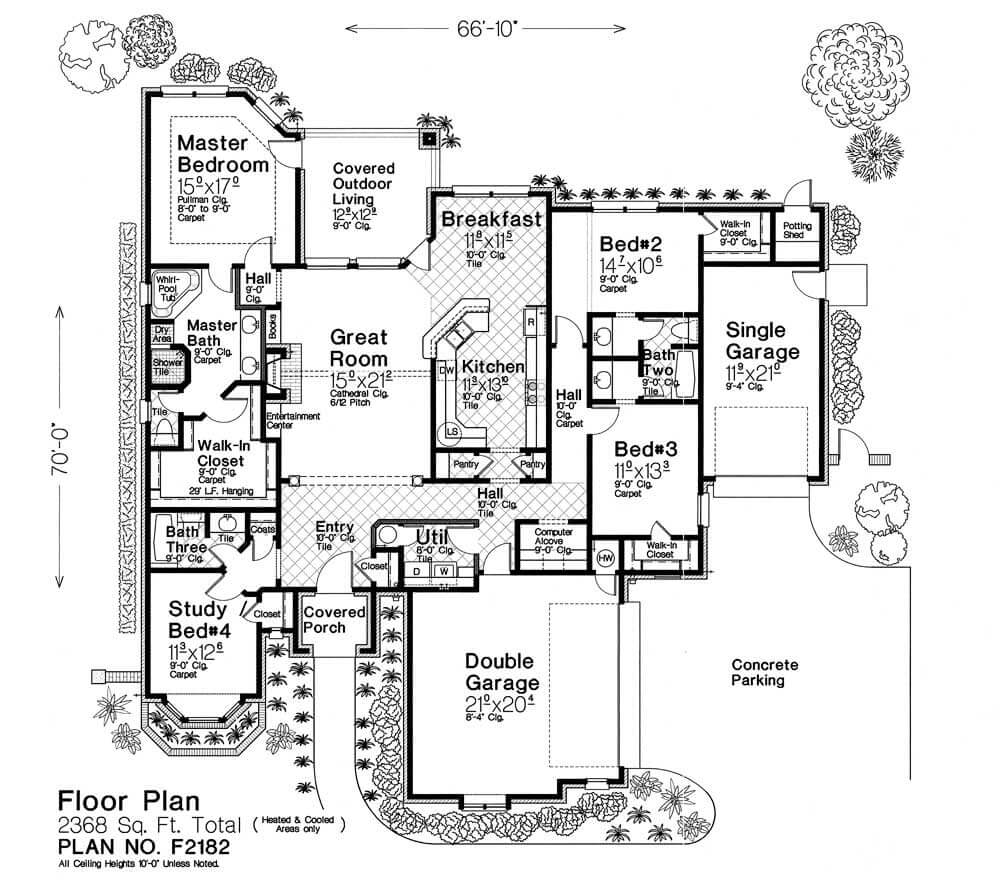 F2182 fillmore chambers design group Fillmore design floor plans