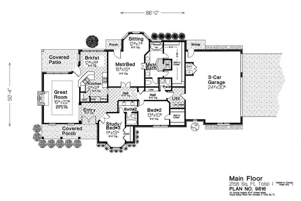 9816 fillmore chambers design group for Fillmore design floor plans