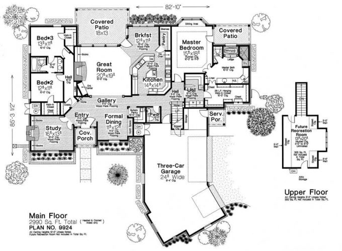 9924 fillmore chambers design group Fillmore design floor plans