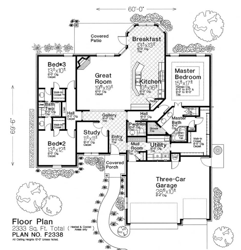 F2338 fillmore chambers design group Fillmore design floor plans