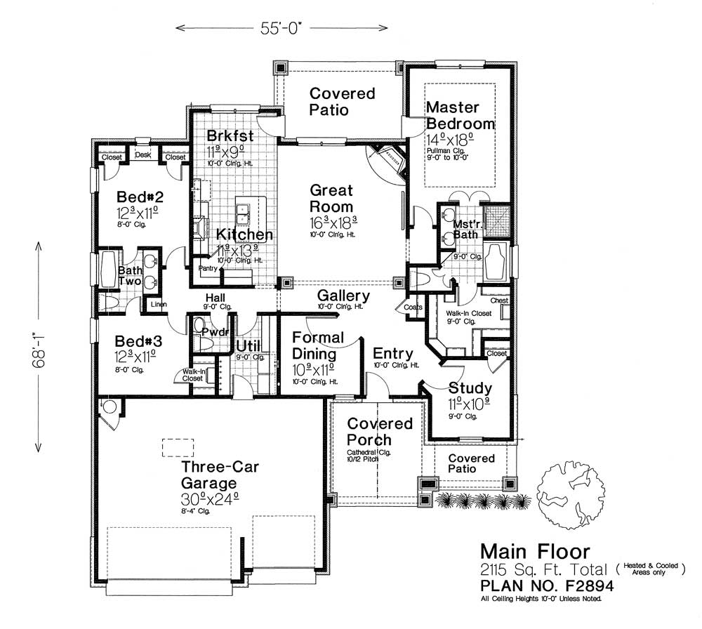 F2894 New Plan Fillmore Chambers Design Group